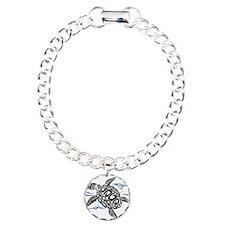 Swimming Black Turtle Bracelet