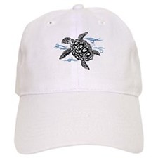 Swimming Black Turtle Baseball Baseball Baseball Cap
