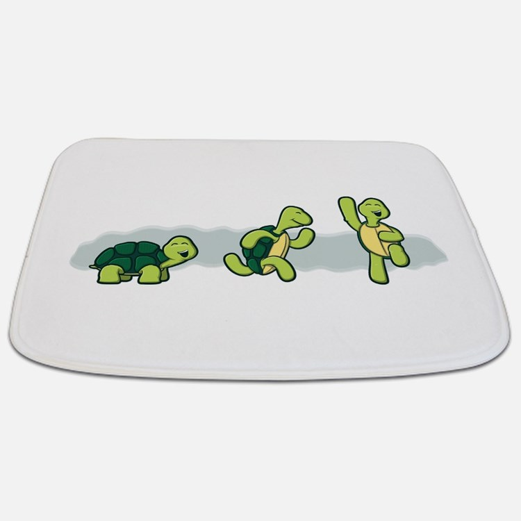 Trio of Turtles-2 Bathmat