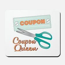 Coupon Queen Mousepad