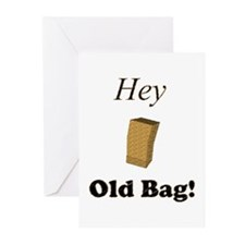 Hey Old Bag! Greeting Cards