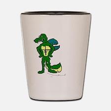 Crocodile Smile Shot Glass
