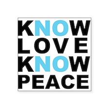 Know Love... Sticker