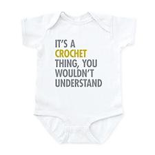 Its A Crochet Thing Infant Bodysuit