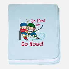 Go Hard baby blanket