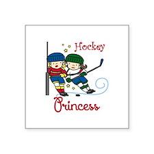 Hockey Princess Sticker