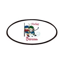 Hockey Princess Patches