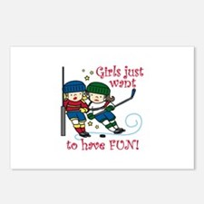 Have Fun Postcards (Package of 8)