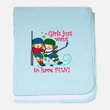 Have Fun baby blanket