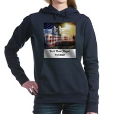 Remembering 9 11 a Women's Hooded Sweatshirt