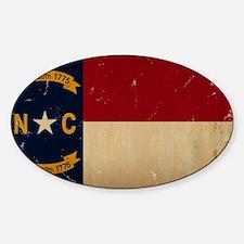 North Carolina State Flag VINTAGE Stickers