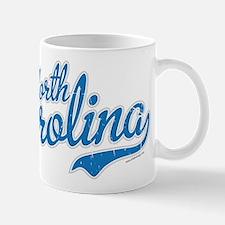 Carolina Script Font Vintage Mugs