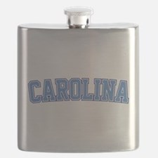 North Carolina - Jersey Flask