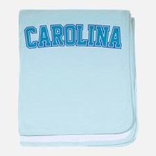 North Carolina - Jersey baby blanket