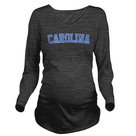 CafePress  - North Carolina - Jersey Long Sleeve Maternity T-Sh