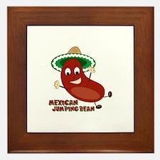 Mexican Jumping Bean Framed Tile