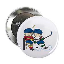 "Hockey Boys 2.25"" Button"