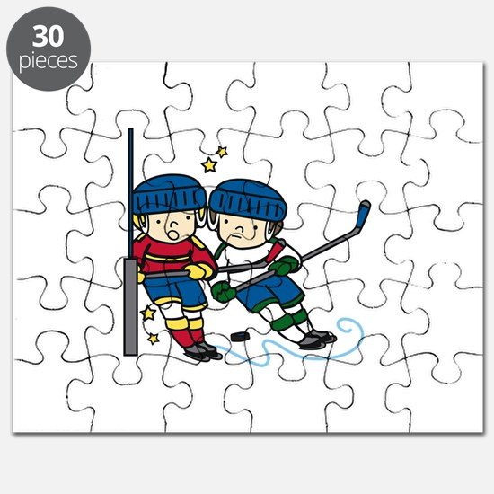 Hockey Boys Puzzle