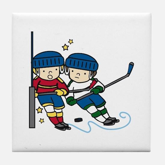 Hockey Boys Tile Coaster