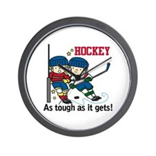 Hockey Tough Wall Clock