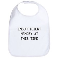 Insufficient memory at this time Bib