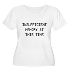 Insufficient memory at this time Plus Size T-Shirt