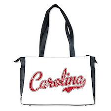 South Carolina Script Font Vintage Diaper Bag