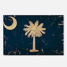 South Carolina State Flag VINTAGE Postcards (Packa