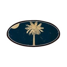 South Carolina State Flag VINTAGE Patches