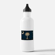 South Carolina State Flag VINTAGE Water Bottle