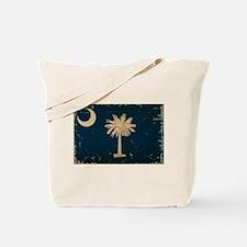 South Carolina State Flag VINTAGE Tote Bag