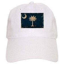 South Carolina State Flag VINTAGE Baseball Baseball Cap