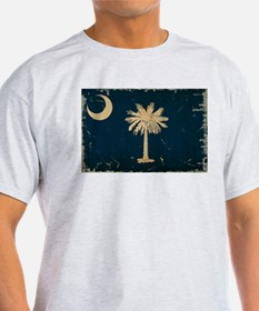 South Carolina State Flag VINTAGE T-Shirt
