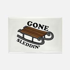 Gone Sleddin Magnets