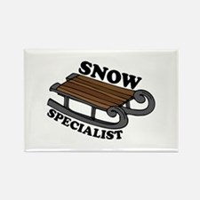 Snow Specialist Magnets