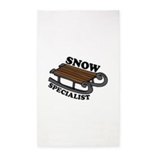 Snow Specialist 3'x5' Area Rug