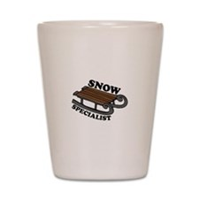 Snow Specialist Shot Glass