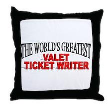 """The World's Greatest Valet Ticket Writer"" Throw P"