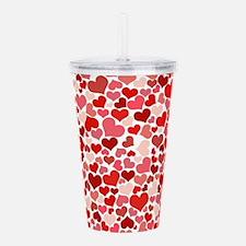 Cute Valentine Acrylic Double-wall Tumbler