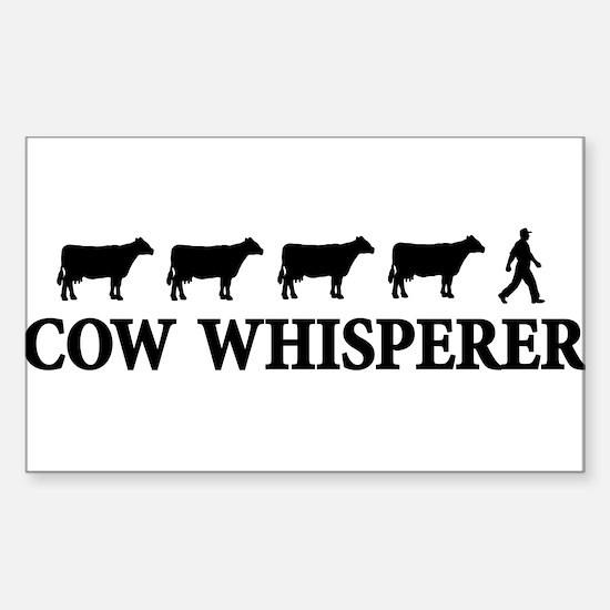 cowwhisperer copy Decal