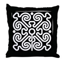 labyrinth Throw Pillow