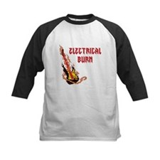 Electrical Burn Guitar Baseball Jersey