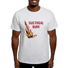 Electrical Burn Guitar T-Shirt