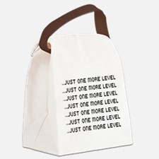 Just one more level Canvas Lunch Bag