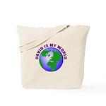 David is my world Tote Bag
