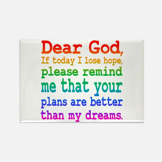 Inspirational: Dear God, If today I lose hope... M
