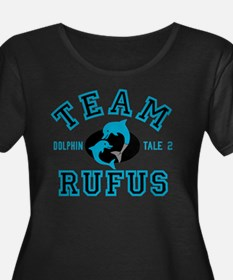 Team Rufus Dolphin Tale 2 Plus Size T-Shirt