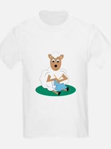 Knitting Lamb T-Shirt