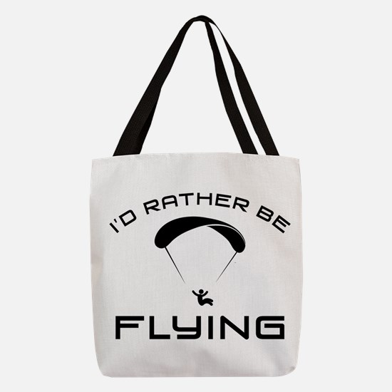 Paragliding Polyester Tote Bag
