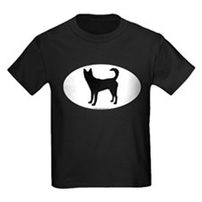 Canaan Dog Silhouette T